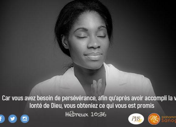 Prie avec ferveur pour l'accomplissement des promesses de Dieu dans ta vie !