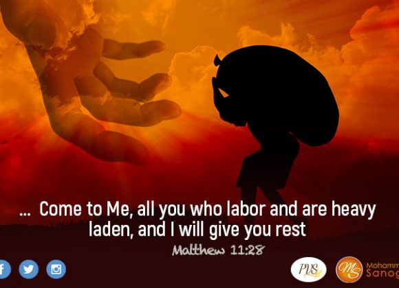 Accept Christ's deal and you will find rest !