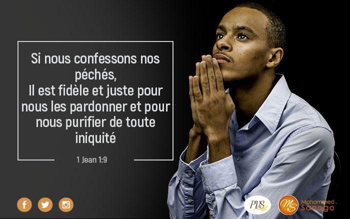 Confesse ton péché  et tu seras purifié(e) !