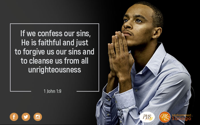Confess your sin and you will be purified !