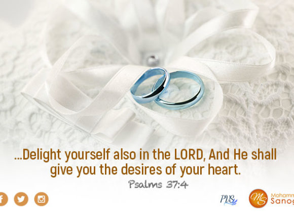 Become the bride of Christ and love Him above all !