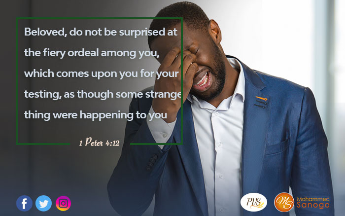Dedramatize the trial you're going through !