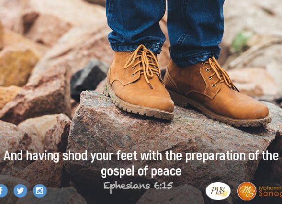 Wear your shoes in order to completely defeat the enemy !