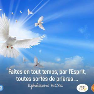 Prie par l'Esprit, au nom de Jésus !
