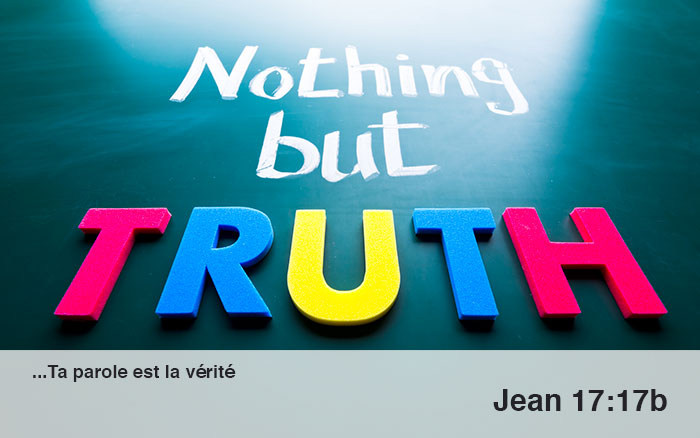 Marcher dans la vérité…