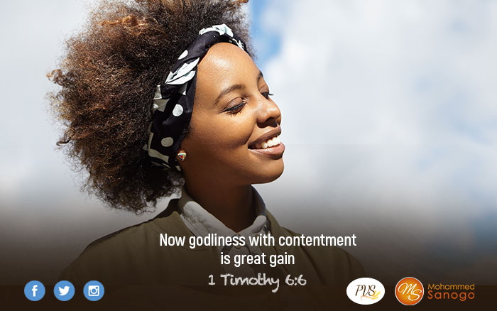 COMBINE CONTENTMENT WITH YOUR GODLINESS TO EXPERIENCE DIVINE SUPERABUNDANCE!