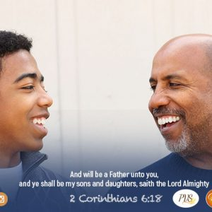 REALIZE THAT GOD IS YOUR DAD!