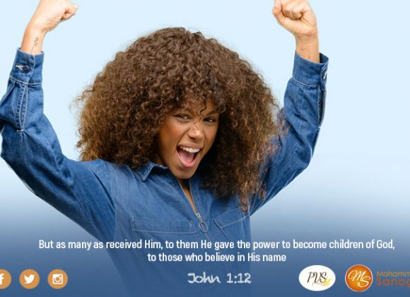 USE YOUR POWER AS A CHILD OF GOD!