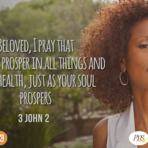 YOU ARE A BLESSED PERSON: PROSPEROUS!